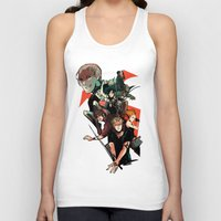 mortal instruments Tank Tops featuring The Mortal Instruments by The Radioactive Peach