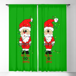 Amusing Santa Blackout Curtain