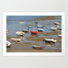 Low Tide 2 Art Print