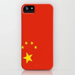 flag of china 0-中国,chinese,han,柑,Shanghai,Beijing,confucius,I Ching,taoism. iPhone Case