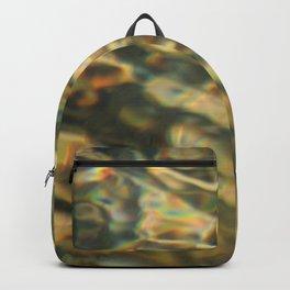 water pattern Backpack