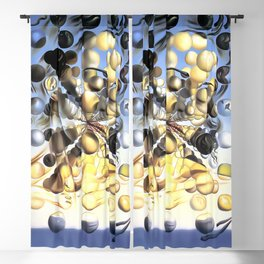 Salvador Dalí, Galatea of the Spheres 1952, Restored Artwork for Wall Art, Prints, Posters, Tshirts, Men, Women, Kids Blackout Curtain