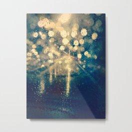 Under the rain Metal Print