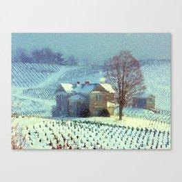 A Winter Place Canvas Print