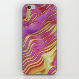 go easy on the purple iPhone Skin