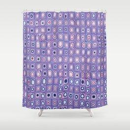 Bright Purple Shower Curtain