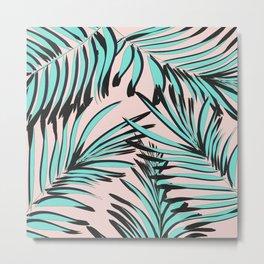 Tropical print Metal Print