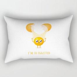 I'm so Eggcited Rectangular Pillow