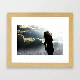 Through Spirit Framed Art Print