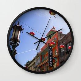 China Town San Francisco Wall Clock