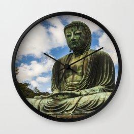 Great Buddha of Kamakura / Daibutsu Wall Clock