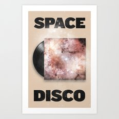 Space Disco Art Print