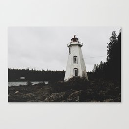 Big Tub Lighthouse Canvas Print