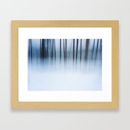 The Mysterious Forest Framed Art Print