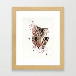 Catcat Framed Art Print