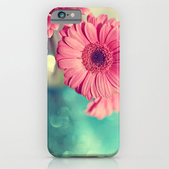 Pink Gerbera Daisy iPhone & iPod Case