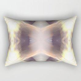 Abstract Feathered Print Rectangular Pillow