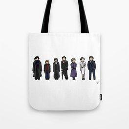 Characters of Sherlock Tote Bag