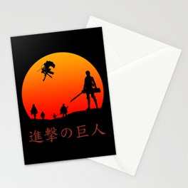 Scout Regiment Stationery Cards