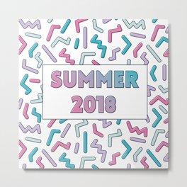 Candy Summer Metal Print