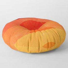Abstraction_Sunrise Floor Pillow