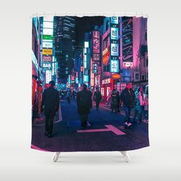 Take A Walk Under The Neon Shower Curtain