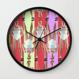 SUMMER JOCK Wall Clock