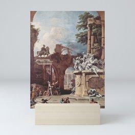 Sebastiano Ricci - Tomb of the Duke of Devonshire Mini Art Print