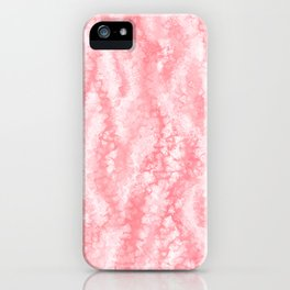 Pastel Strawberry Pink Lacey Icing iPhone Case