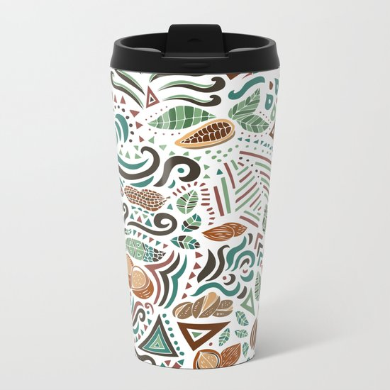 Nuts And Nature Metal Travel Mug