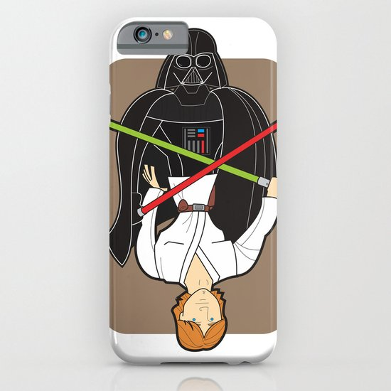 Darth Vader and Luke iPhone & iPod Case