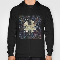 Zombies attack (zombie circle horde) Hoody