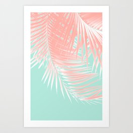 Palm Leaves Summer Vibes #9 #tropical #decor #art #society6 Kunstdrucke