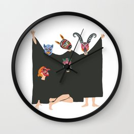 Monster Mash Wall Clock