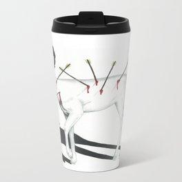 Audrey Hepburn Deer Travel Mug