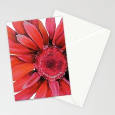 Pink Flower Stationery Cards