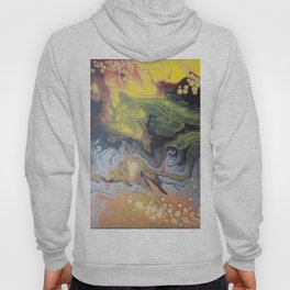 83 Explosion Yellow | Abstract Artwork Hoody