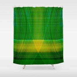 green hope Shower Curtain
