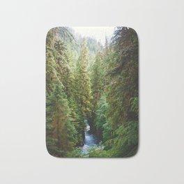 Evergreen River Bath Mat