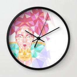 Pastel Sugarcube Wall Clock