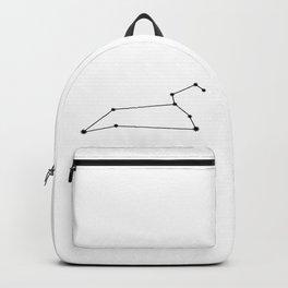 Leo Astrology Star Sign Minimal Backpack