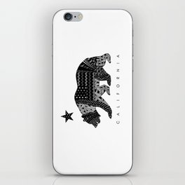 California Black & White iPhone Skin