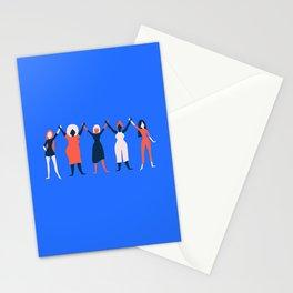 Girl Gang - Blue Stationery Cards