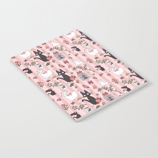 Jiji Cat Pattern Notebook