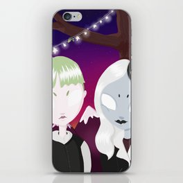 love in the graveyard iPhone Skin