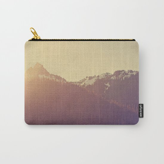 Sunrise over the Mountains Carry-All Pouch