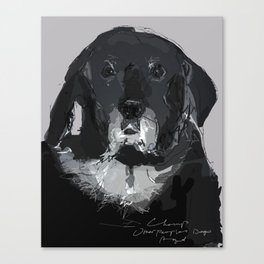 OPD Champ Canvas Print