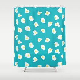 Eggs Sunny Side Up Shower Curtain