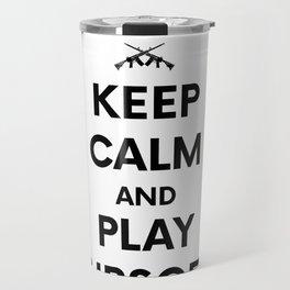 Keep Calm welts Airsoft Airsoft BBs Gift Travel Mug