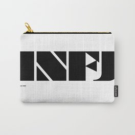 Type Type for INFJ Carry-All Pouch